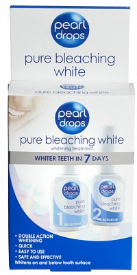 Pearldrops Pure Bleaching White