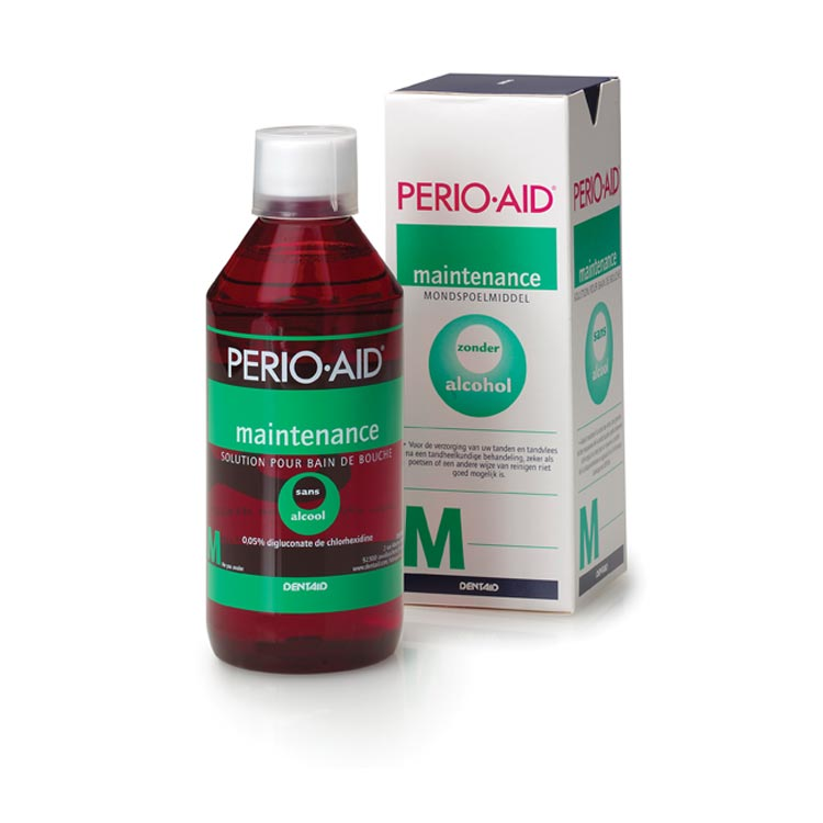 Perio-Aid Maintenance Mondspoelmiddel 0,05% 500 ml