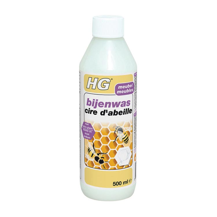 Hg Bijenwas Wit 500ml