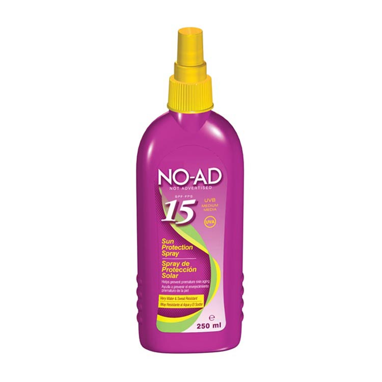 No-ad Sun Spray Factor(spf)15 250ml