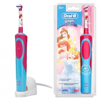 oral b stages power kids princess elektrische. Black Bedroom Furniture Sets. Home Design Ideas