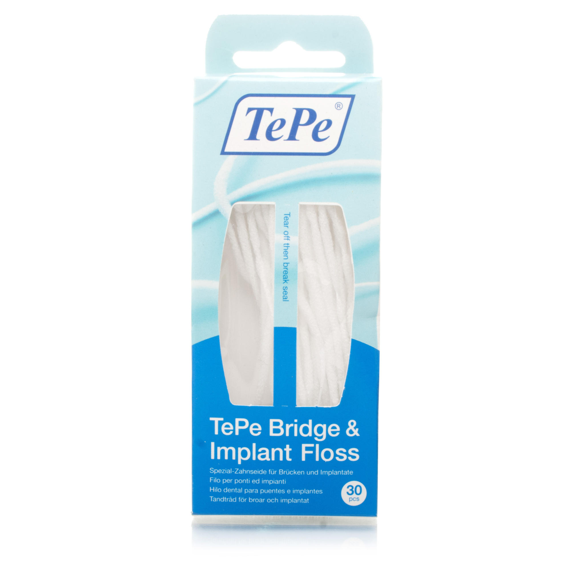TePe Bridge & Implant Floss 30 stuks
