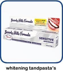 Tanden bleken met whitening tandpasta